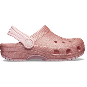 Crocs Classic Glitter Clogs Niños, blossom